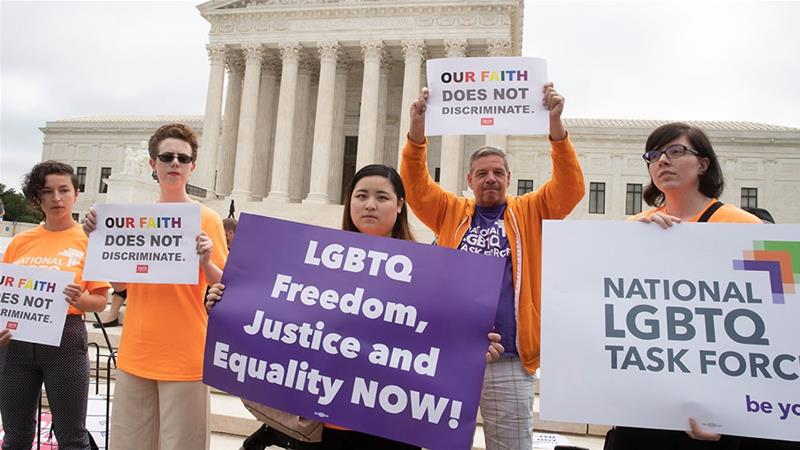 US Supreme Court sends gay wedding cake case back to lower