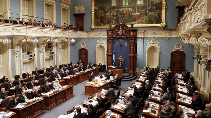 The bill was approved by 62 legislators against 42 [File: Mathieu Belanger/Reuters]
