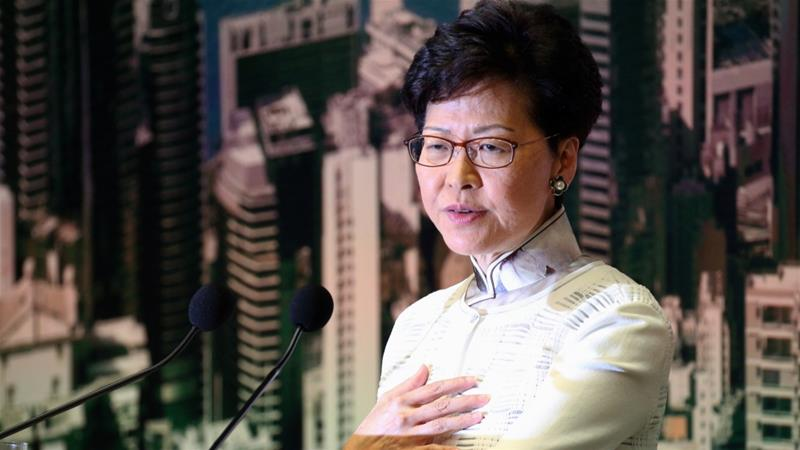 Hong Kong Leader Offers Apology to Protesters