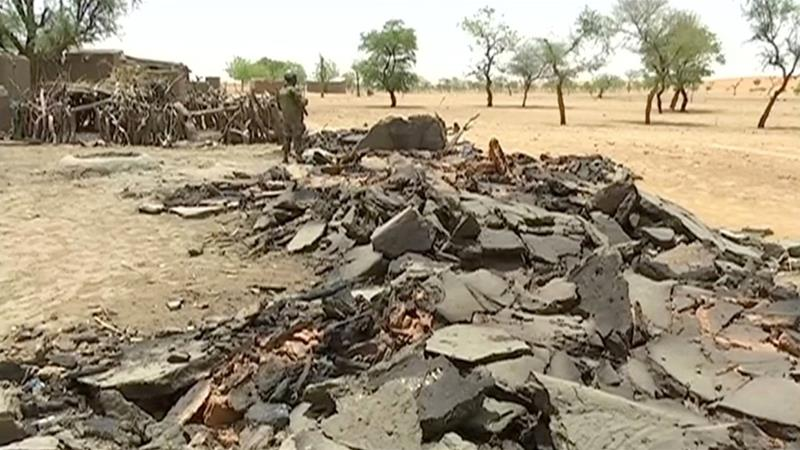 Attackers believed to be Fulani raided a Dogon village last week killing at least 35 people
