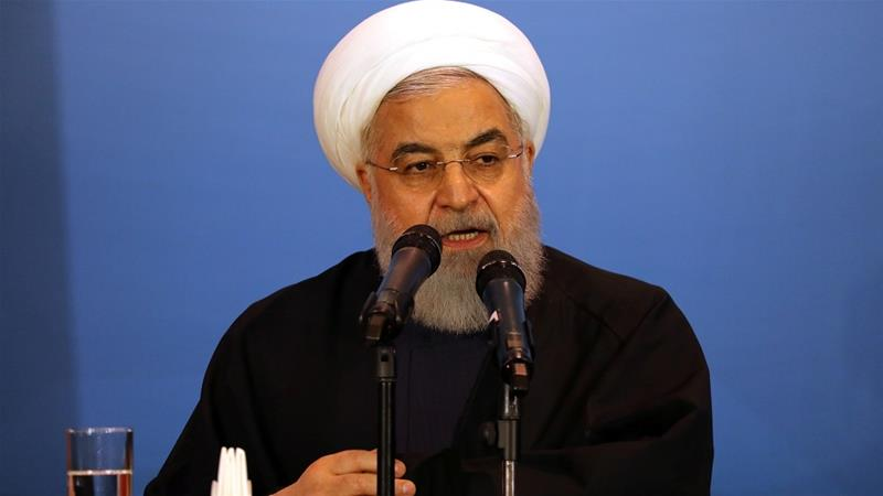 Iran's Rouhani: US sanctions on Khamenei 'idiotic and outrageous'