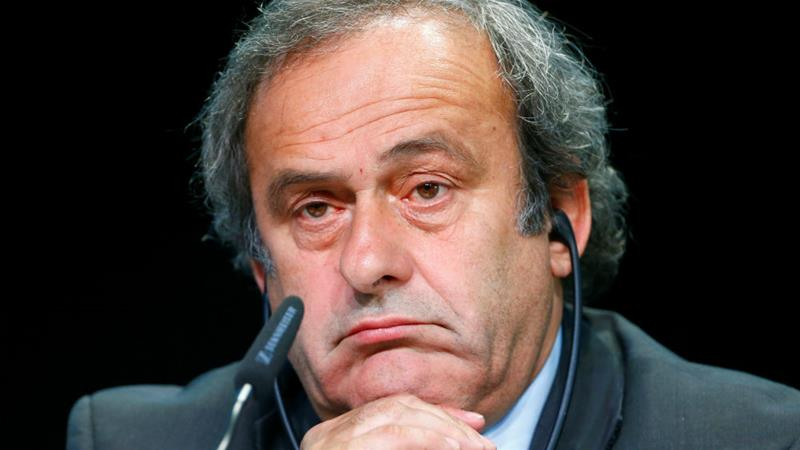 Michel Platini was banned from football for six years, later reduced to four years, in 2015 [File photo:Ruben Sprich/Reuters]