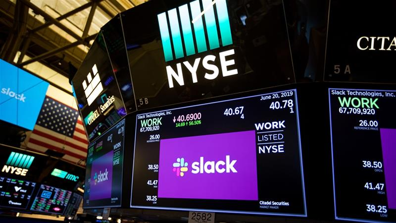 Founded in 2009, Slack Technologies, Inc says it has surpassed more than 10 million daily active users [Michael Nagle/Bloomberg]
