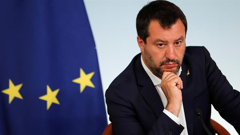 The European Union is concerned about Italy's debt but Deputy Prime Minister Matteo Salvini says tax cuts are needed to jump start Italy's economic growth [Remo Casilli/Reuters]