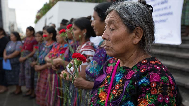Guatemala survivors of wartime sexual violence fight for justice