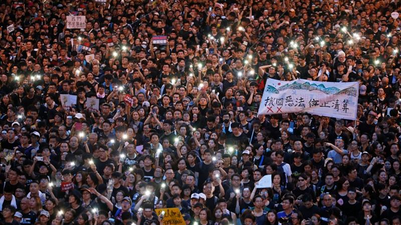 One country, two stories: Covering Hong Kong's protests