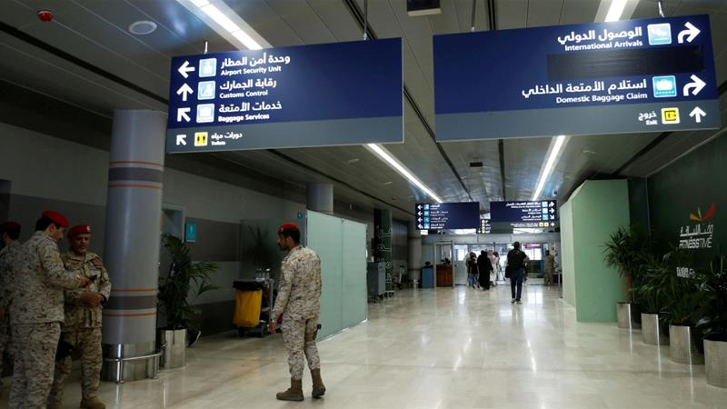 Riyadh has accused Iran of supplying the Houthis with the weapon used in a previous attack on the airport [File: Faisal al Nasser/Reuters]
