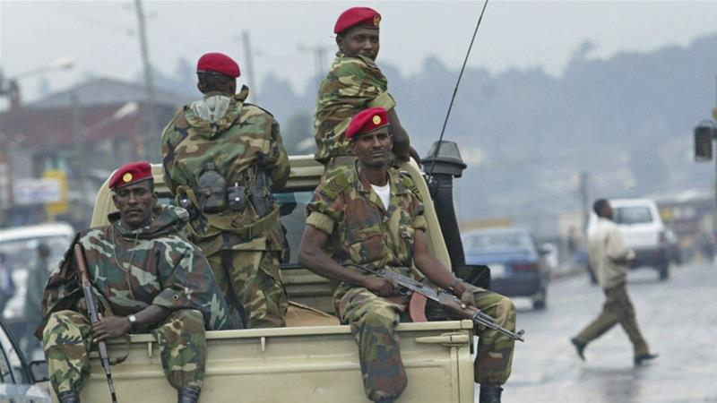 Pro government troops moved in after Ethiopia coup bid