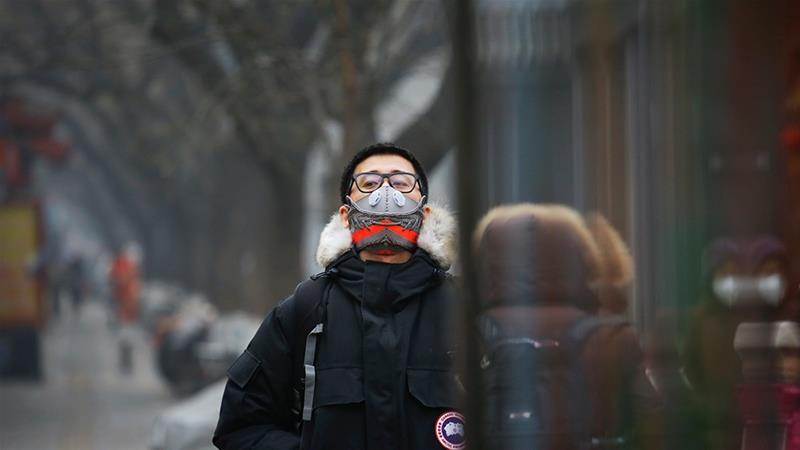 Outdoor pollution in China is now also a major cause of death in the country [Damir Sagolj/Reuters]