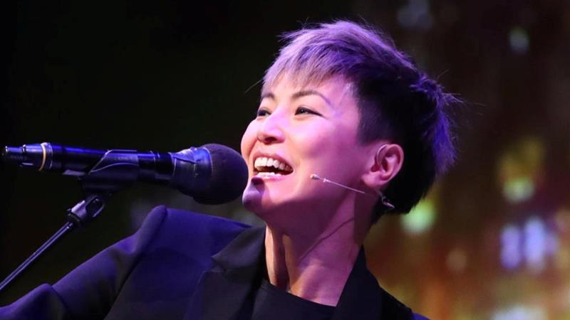 Hong Kong-based artist and LGBTQ rights advocate Denise Ho is among the few celebrities who joined protests and claims she has lost out financially as China punished her [Scanpix/Ryan Kelly/Reuters]