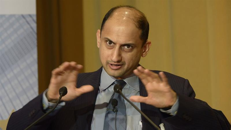 Viral Acharya, professor of finance at New York University, had clashed with Modi's administration over central bank independence [Horacio Villalobos/Corbis/Getty]