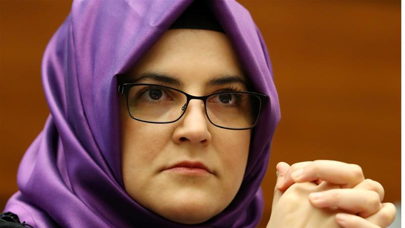 Khashoggi's fiancee calls for international probe