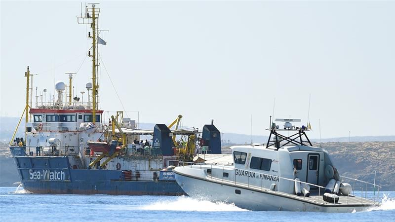 Captain of Sea-Watch threatens to run Italy 'blockade'