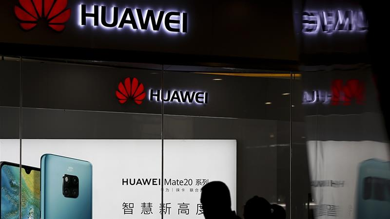 "China's investigation of FedEx came after the United States placed Huawei on an ""entity list"" that effectively bars US-based suppliers from serving the company [File: Andy Wong/AP Photo via Reuters]"