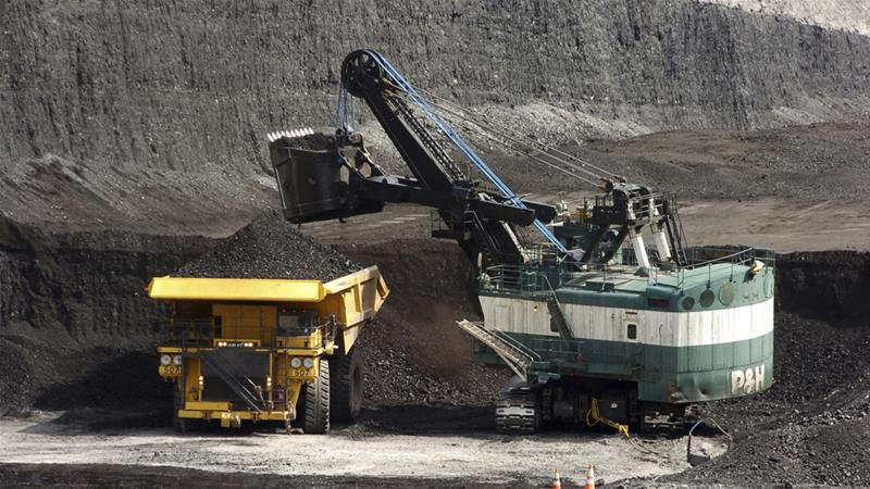The US government decision to lift a moratorium on coal sales from public lands could hasten the release of more than 5 billion tonnes of greenhouse gasses [File: Matthew Brown/AP]