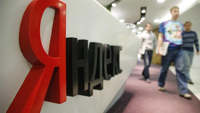 Moscow-based Yandex has nearly 110 million monthly users in Russia and has expanded its offerings with taxi, food delivery, and online advertising services [Maxim Zmeyev/Reuters]