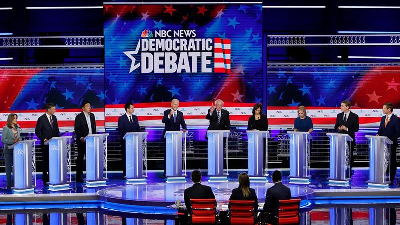 US Democratic debate night two: What did the candidates say? | USA