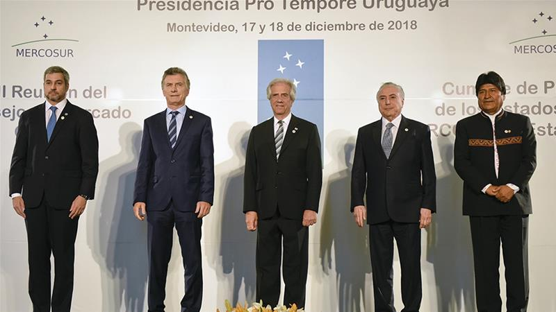EU, South American bloc strike long-sought free trade deal