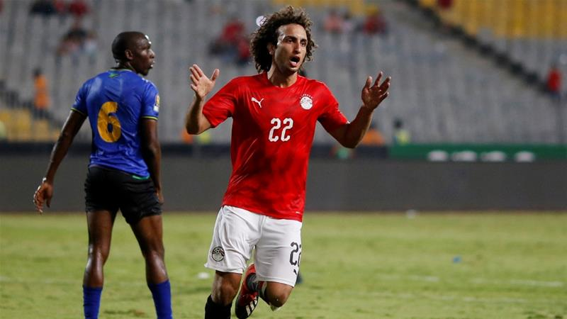 Warda, 25, plays for the Greek side PAOK and Egypt's national team [Amr Abdallah Dalsh/Reuters]