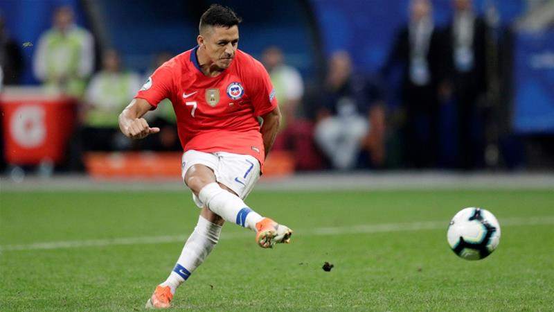 Copa America: Chile beat Colombia on penalties to reach semis