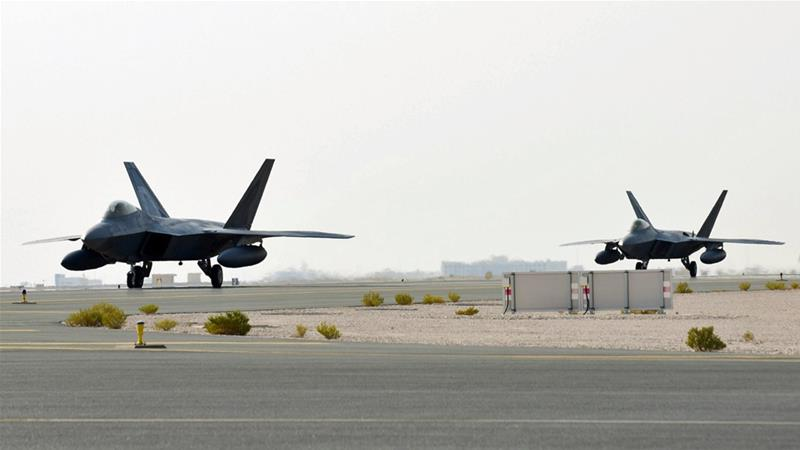 US deploys F-22 stealth fighters to Qatar amid Iran tensions