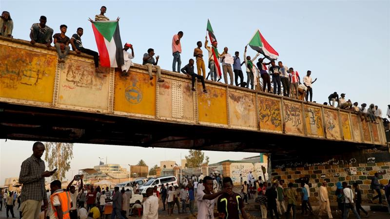 Protests began in Sudan in December 2018 over soaring bread prices, but quickly grew into anti-government rallies demanding the removal of then-President Omar al-Bashir [File: Anadolu]