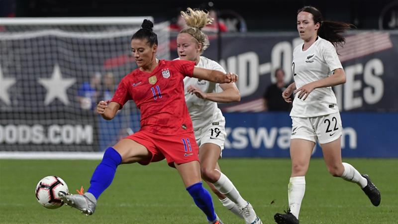 World Cup: Women footballers fight for even playing field