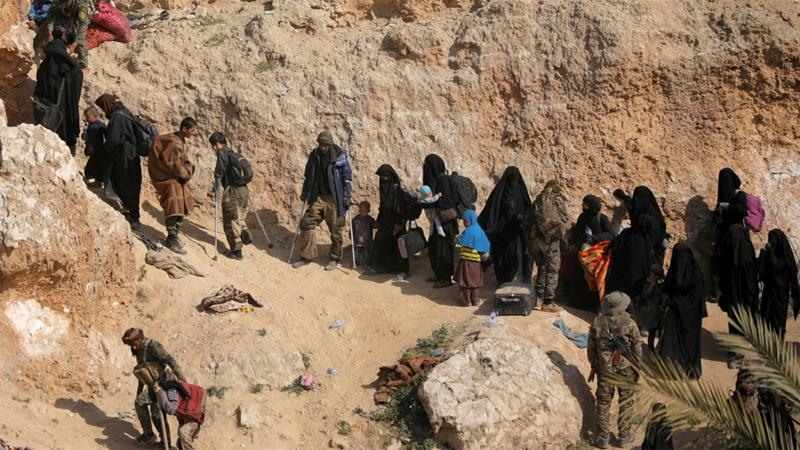 Kurdish-led Syrian Democratic Forces are holding thousands of women and children in overflowing camps after clearing ISIL's last foothold in Syria in March [File: Rodi Said/Reuters]