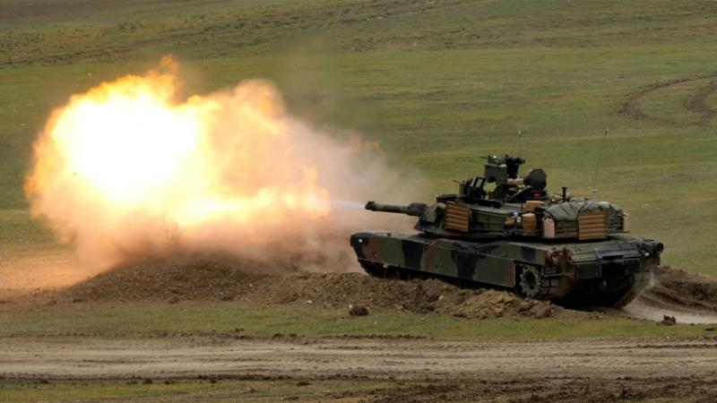 Taiwan's defence ministry says it has submitted a letter of request for 108 M1A2 Abrams tanks, among others [File: David Mdzinarishvili/Reuters]