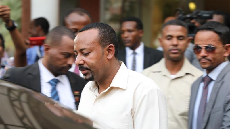 Abiy Ahmed met Sudan's generals and protest leaders in a bid to revive reconciliation talks [Anadolu]