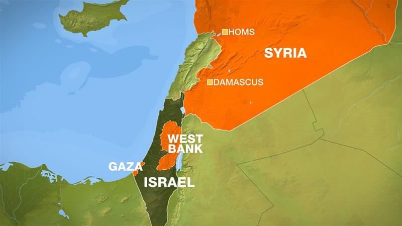 Syria war: Israeli jets 'hit Iranian targets in Homs and Damascus'