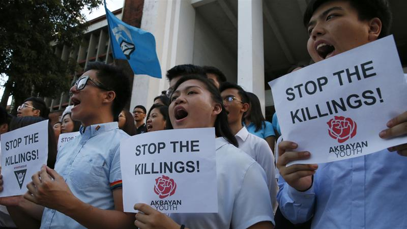 More than 70 children have reportedly been killed in anti-narcotics operations [Bullit Marquez/AP]