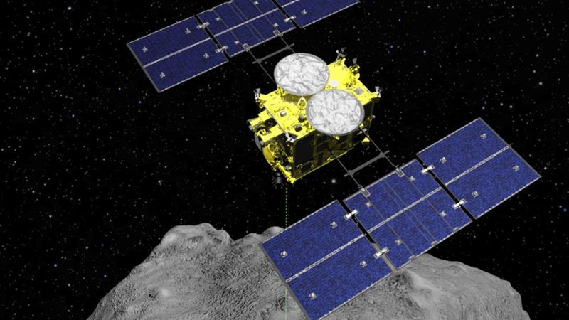 Hayabusa2 Spacecraft Successfully Lands on Ryugu Asteroid