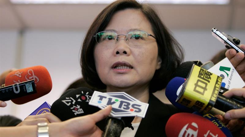 Taiwan has been trying to shore up its diplomatic alliances amid pressure from China [File: Pichi Chuang/Reuters]