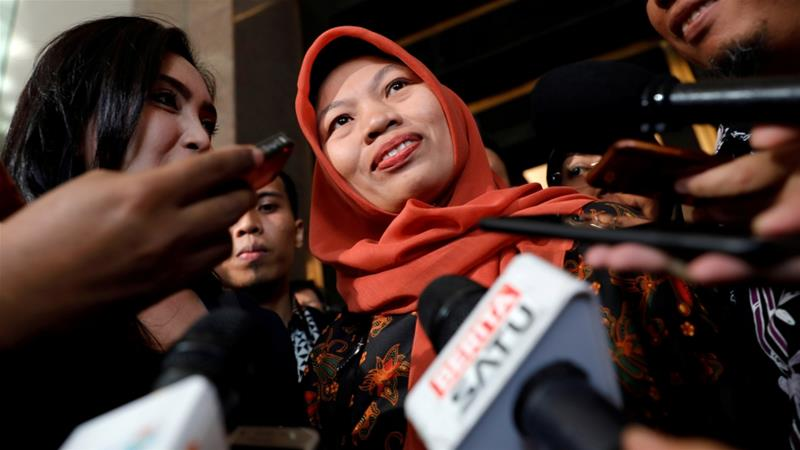 Indonesia's top court last week had rejected Baiq Nuril Maknun's appeal [File: Willy Kurniawan/Reuters]