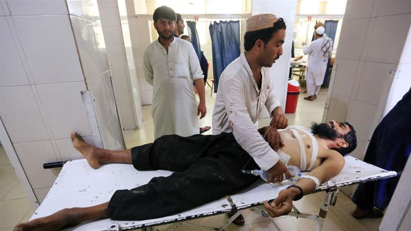 Teen bomber kills at least five at eastern Afghanistan wedding