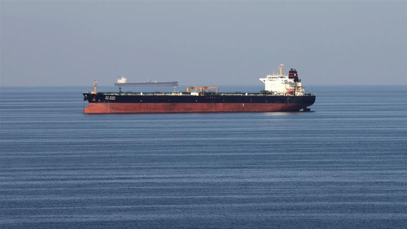 Oil tankers passing through the Strait of Hormuz have been told not to hire private armed guards [Hamad I Mohammed/Reuters]