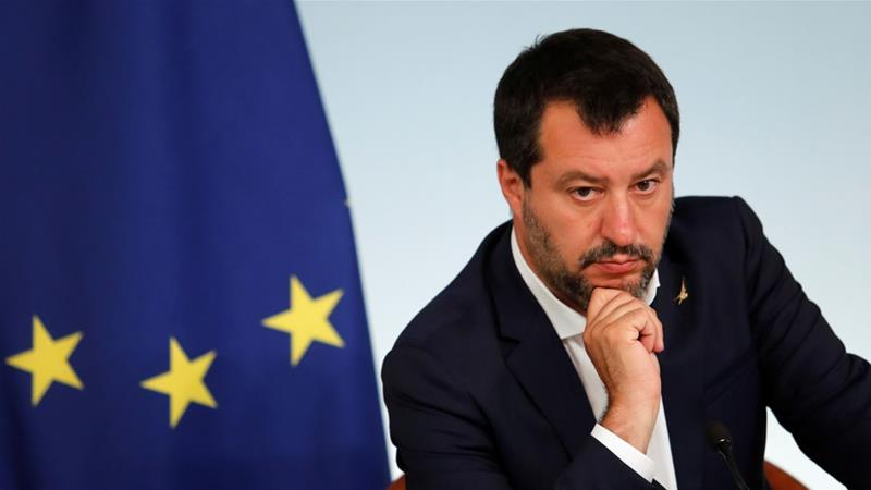 Salvini has become the face of Europe's anti-migrant movement [File: Remo Casilli/Reuters]
