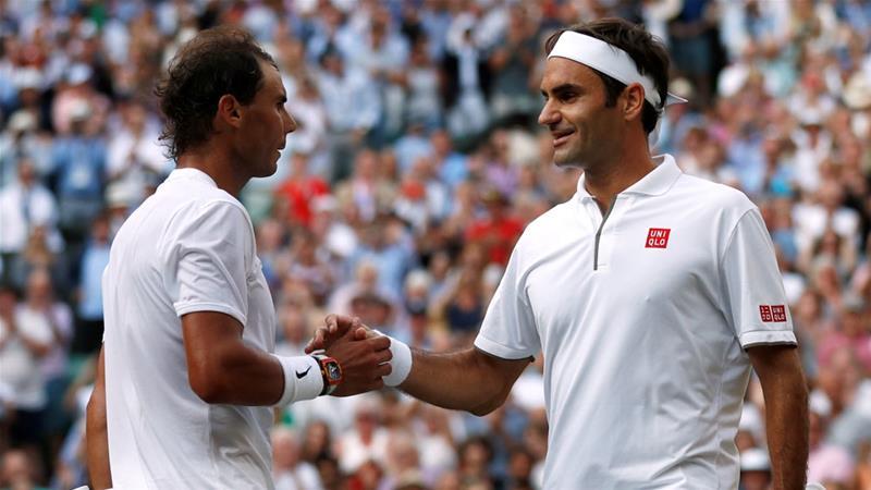 Federer beats Nadal to reach record 12th Wimbledon final
