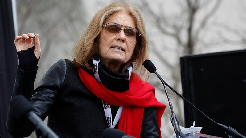 Framing the debate over abortion as pro-life versus pro-choice is misleading in the view of Gloria Steinem, who believes the issue is really about control [File: Shannon Stapleton/Reuters]