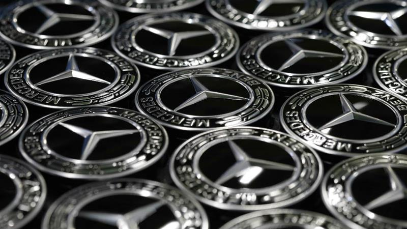 Mercedes-Benz vehicles are made by Daimler AG, in Rastatt, Germany [Michaela Handrek-Rehle/Bloomberg]