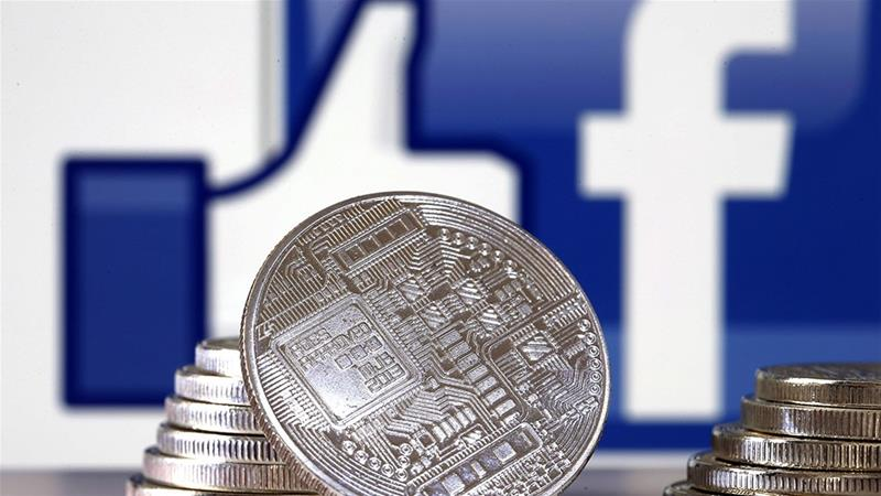 Facebook is facing growing criticism over Libra, its proposed cryptocurrency, that could be potentially be used by more than two billion people [File/Bloomberg]