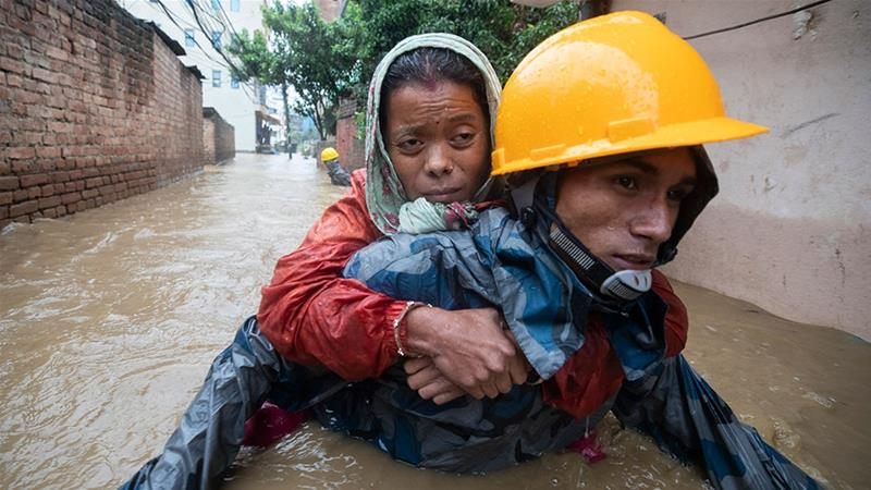 At least 50 dead in Nepal monsoon