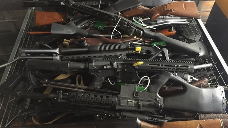 New Zealand gun owners hand over firearms at first buyback event