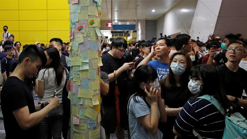 When will Hong Kong protests end?