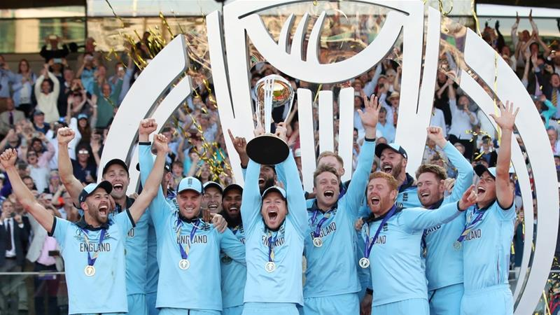 England crowned Cricket World Cup champions for 1st time