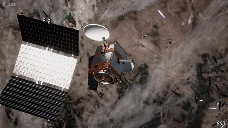 Taking out the trash - in space