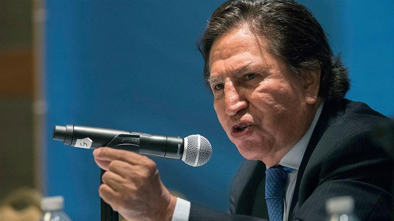 U.S. arrests ex-Peruvian President Alejandro Toledo at Lima's request