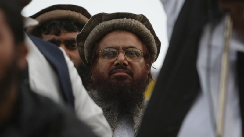 Saeed is the founder of the Lashkar-e-Taiba armed group and heads its Jamaat-ud-Dawa humanitarian wing [File: K.M.Chaudary/AP]
