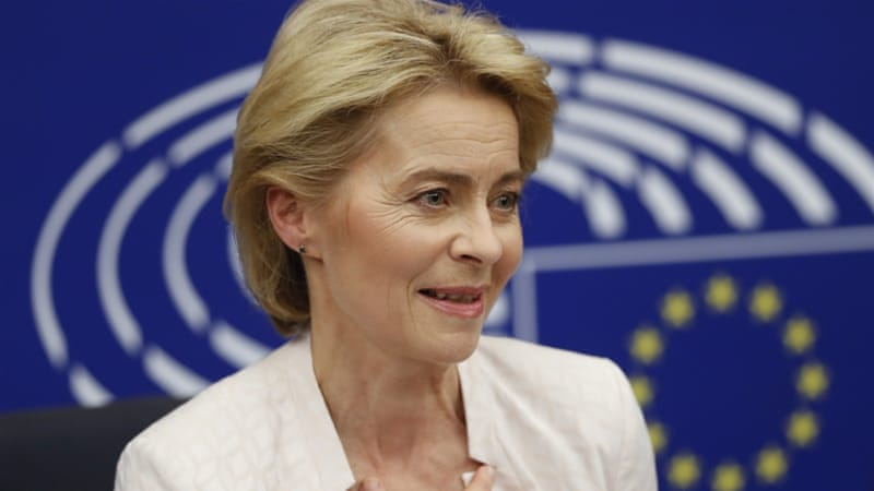 Ursula von der Leyen: First woman to hold EU's top job